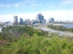 Vue de Perth en haut de King's Park