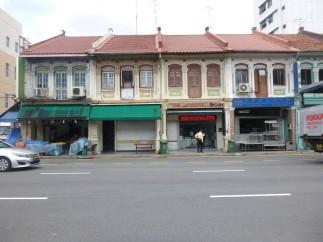 Quartier Geylang - Sims av et marché