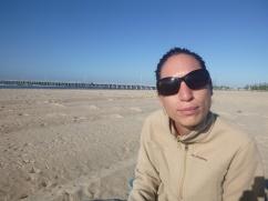 1. Descente du ferry et ptit dej sur la plage pour s'en remettre