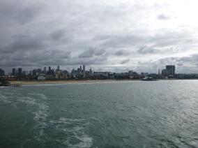 1. Départ ferry Melbourne