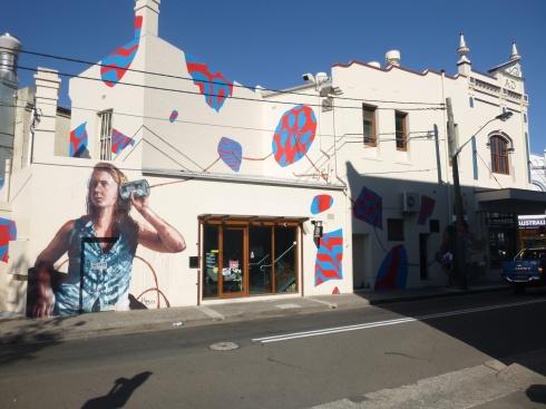 26. Art mural à Newtown