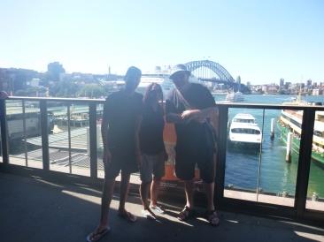 27. Nous avec Wally, peut-être la plus gentille personne d'Australie