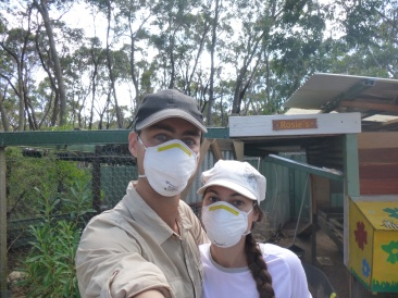 28. Protection antitoxique (pour nettoyer la cage à poules...)