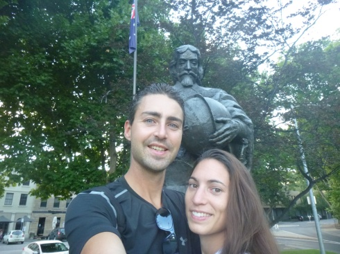 34. Photo avec Monsieur Tasman