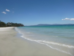 38. En Tasmanie aussi il y a des plages