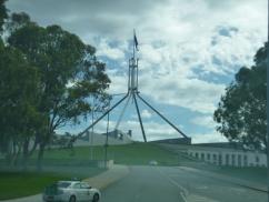 5. Canberra - Nouveau Parlement (berk !)