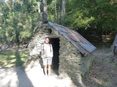 30.2. Pas une maison de hobbit mais une maisonette de mineurs chinois à Arrowtown... Lu doit être un peu chinoise, c'est à sa taille !