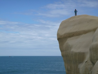 69. Lu on the cliff