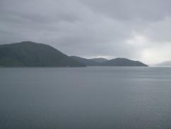 71. Ferry Picton - Départ de l'île du Sud2
