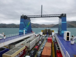72. Ferry Picton - Départ de l'île du Sud3