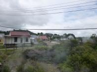 52. Rotorua - Whakarewarewa village - Village traditionnel maori où les habitants se servent quotidiennement des sources chaudes pour manger, se laver, etc.