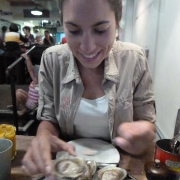 88. Auckland3 - Arrêt au restaurant le Dépôt pour déguster les meilleures huîtres de la ville