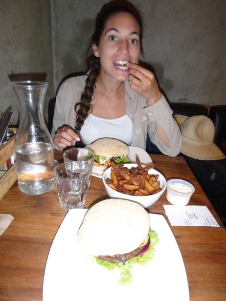 91. Auckland6 - Un vrai burger de NZ pour bien commencer la journée