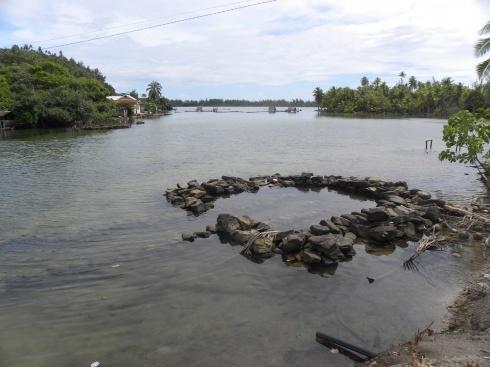 20. Piège à poissons (à l'aide des marées)