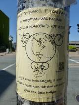 13. Course mondiale du vélo à poil !
