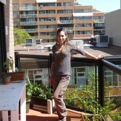 2. Notre propre appartement juste en face d'Halifax. Merci Couchsurfing !