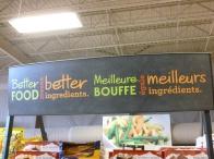 41. Au NB les deux langues officielles cohabitent et ce partout dans les magasins