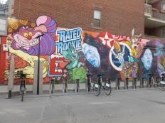 8. Une des nombreuses fresques murales de la ville