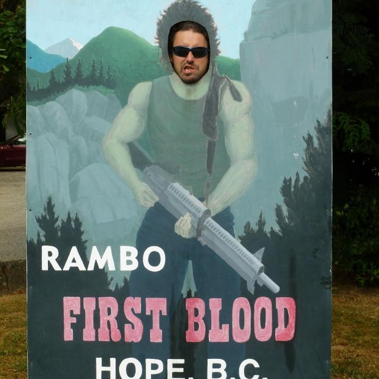 116. Hope - Lieu de tournage du 1er Rambo...