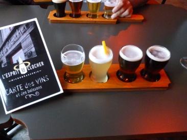 4. Micro-brasserie - Vous hésitez dans le choix de votre bière, optez pour une palette !