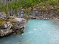 74. Rocheuses - Kootenay - Marble Canyon