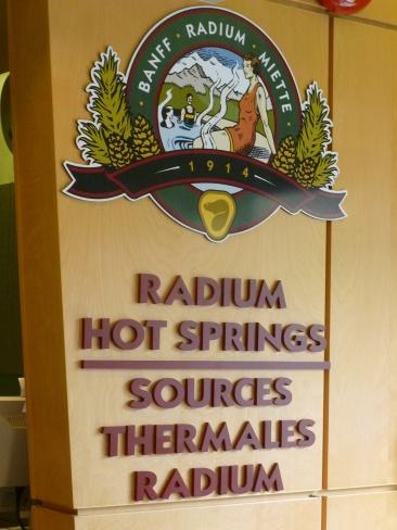 77. Rocheuses - Kootenay - Radium hot springs