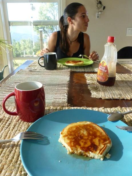 10. 1er pancake canadien !