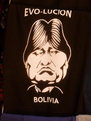 4. Evo Morales, président du pays