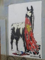 55. Art mural dans une rue de La Paz