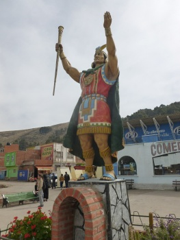 57. Un seigneur Inca nous accueille de l'autre côté