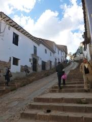5. Rue de Cuzco, ville où locaux et voyageurs se croisent en permanence