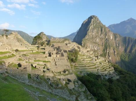 59. Le jour se lève sur le Machu Picchu