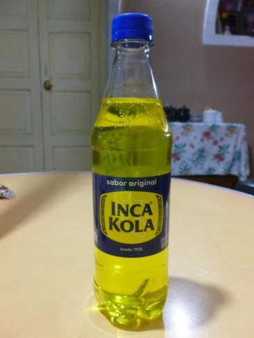 8. Inca kola, la boisson des Péruviens