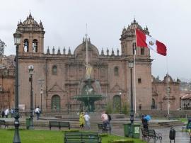 93. Nous quittons Cuzco sous la pluie