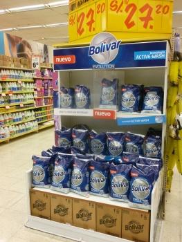 38. Bolivar... la lessive