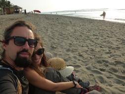 65. Pause sur la plage après une journée bien remplie