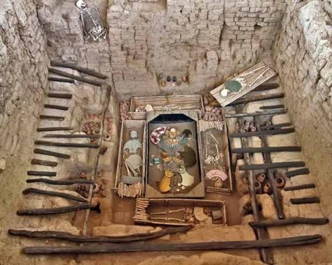 67. Le musée se trouve à l'endroit où fut découvert la tombe d'un grand seigneur de la civilisation Moche (photo web)