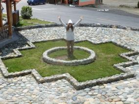 12. Lucile dans la croix des Andes