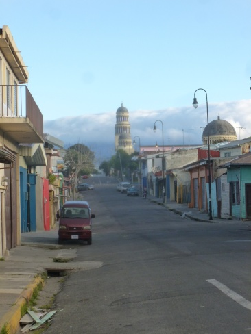 1. San José, non loin du terminal d'où nous partirons pour rejoindre la frontière panaméenne