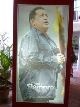 Cuba - La Havane - Exposition sur Chavez