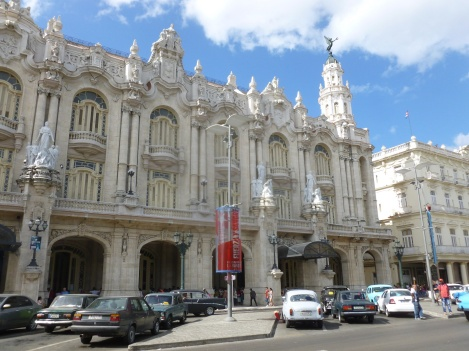 Cuba - La Havane - Le grand théatre