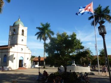 Cuba - Vinales - Place de l'église
