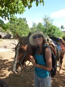 Cuba - Vinales - Promenade à cheval avec Caramelo y Chocolate !