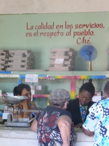 Cuba - Vinales - Un magasin avec la qualité Che !