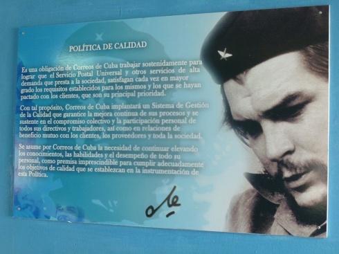 Cuba - Vinales - Le Che tel une norme Iso !
