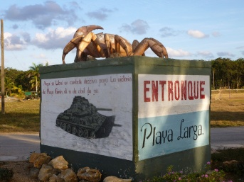 Cuba - Playa Larga - Références à la victoire de 61