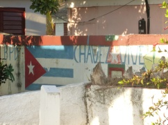 Cuba - Playa Larga - Hommage au défunt leader du Venezuela, Hugo Chavez