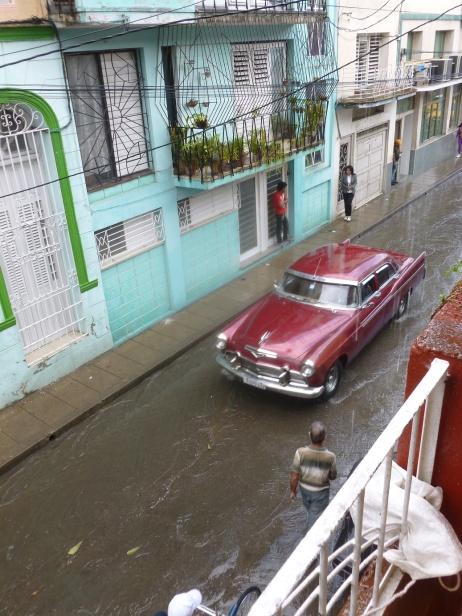Cuba - Santa Clara - Pluie cubaine = pluie tropicale