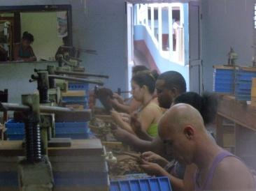 Cuba - Santa Clara - Fabrique de cigares - Hecho a mano