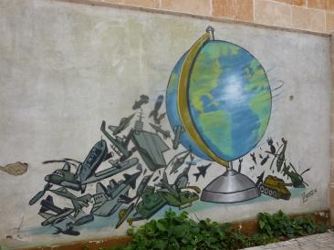 Cuba - Santa Clara - La paix illustrée